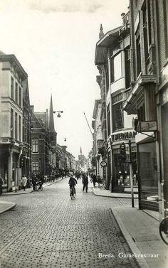 One of my most favorite streets in the world. Breda, Ginnekenstraat.