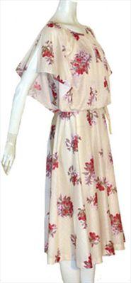Vintage 1970s Dress by Nelda's Vintage Clothing