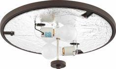 Esprit 2 Light Ceiling Fixture Flush Mount