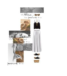 """""""PRECIOUS"""" by nadinekenific ❤ liked on Polyvore featuring City Streets, Cameo, MANGO, Rebecca Minkoff, Emily Elizabeth Jewelry and Ray-Ban"""