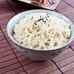 Garlic Brown Rice