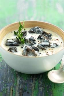 Cassolettes of snails with garlic cream Chicken Soup Recipes, Healthy Soup Recipes, Fish Recipes, Escargot Recipe, Snails Recipe, Pudding, Slow Cooker Soup, Slow Food, Just Cooking