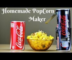 How to Make a Popcorn Machine at Home