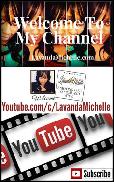 It was so much fun making this video with my hubby and learning more about technology. I look forward to making more of these and sharing my experiences through this medium. In the meantime, go ahead and subscribe to my channel. Thanks! https://lavandamichelle.com/2017/10/15/lavanda-michelle-now-on-youtube/