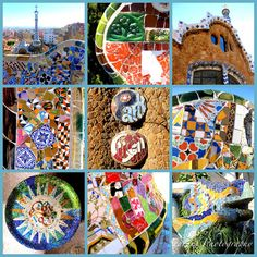 Spain is bright and diverse, accept personal inner paintings drip at El Prado in The town, wander the lively walkway down the Mediterranean and beyond in Barcelona . Gaudi Mosaic, Mosaic Art, Mosaic Tiles, Photo Collage Canvas, Hipster Decor, Parc Guell, Spanish Art, Thing 1, Large Art