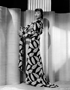 Anna May Wong, (for) Dangerous to know, 1938 (photo by Eugene Robert Richee)