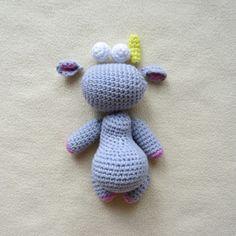 схема вязаной игрушки единорог