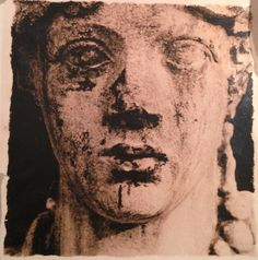 """Available for sale from Staley-Wise Gallery, Deborah Turbeville, Head of Statue, from """"Unseen Versailles"""" Gelatin Silver Print, 9 × 9 in Head Statue, Gelatin Silver Print, Versailles, Black And White Photography, Art Photography, Art Gallery, Artsy, Beautiful, Biography"""