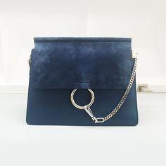 '70s-inspired sophistication by @chloe  #handbag #purse #accessories #suede #fayebag #chloegirls #chloé @pixxyapp