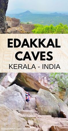 Travel Kerala India to Edakkal Caves in India. Best things to do in Kerala and . Travel Kerala India to Edakkal Caves in India. Best things to do in. Cool Places To Visit, Places To Travel, Travel Destinations, Kerala Travel, India Travel, Caves In India, Kerala India, South India, Weather In India