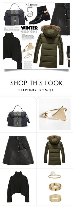 """Retrosuperfuture"" by violet-peach ❤ liked on Polyvore featuring Maje, Miss Selfridge and Eugenia Kim"