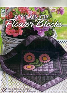 flowerblocks - rosotali roso - Picasa Web Albums...THIS IS A FREE BOOK WITH PATTERNS AND INSTRUCTIONS!!