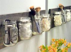 DIY : bocaux Accrochés Au Mur
