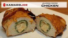 Kamado Joe Jalapeno Popper Chicken https://www.youtube.com/watch?v=ja4Pxdyql2w&feature=em-subs_digest #ArcticSpasUtah