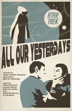 Póster con episodio de Star Trek
