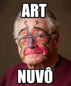 Arte Nuvô (Arte en el abuelo)