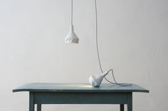 LIKE PAPER by Miriam Aust & Sebastian Amelung  What seems to be folded paper, is made out of slewed concrete.