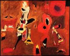 fuck yeah art history - Arshile Gorky Agony 1947 Oil on canvas . Abstract Expressionism, Art Reproductions, Abstract Painting, Painting, Art, Abstract, Art History, Abstract Expressionist, Art Story