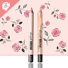 Get WOW brows with these soft highlighting pencils - high brow & high brow glow #benefitbeauty