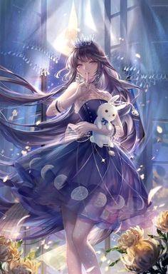 Fille Anime Cool, Cool Anime Girl, Pretty Anime Girl, Beautiful Anime Girl, Manga Anime Girl, Kawaii Anime Girl, Manga Art, Fantasy Kunst, Anime Fantasy