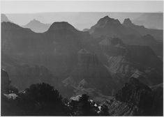 Grand Canyon National Park, Arizona by Ansel Adams
