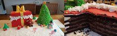 Passend zum Heiligabend schickte Andrea Ihr Tortenkunstwerk.  Der Tannenbaum mit Vanillecreme und das Geschenk mit leckerer Schokomousse.  Kennt Ihr schon unseren Schoko-Biskuit-Mix? Jetzt bestellen!  #pativersand #heiligabend #tannenbaum #geschenke #schokovanillecreme  http://www.pati-versand.de/torten-und-kuchen/backmischungen-und-mehle/schoko-biskuit-mix-400g?c=1274