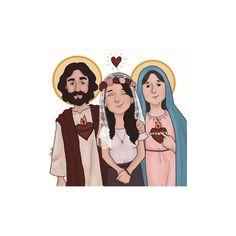 Consagrada a los dos corazones