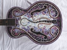 PURPLE HAZE Mosaic guitar