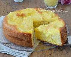 Torta ananas ricotta e crema