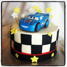 Simply Delicious Cakes: Cars Cake