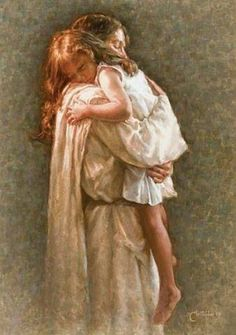 In His Arms Jesus Christ. Jesus Loves you. Children and Jesus. Psalm 17, Jesus Art, God Jesus, Jesus Christ Painting, Braut Christi, Image Jesus, Pictures Of Jesus Christ, Pictures Of God, Jesus Christus
