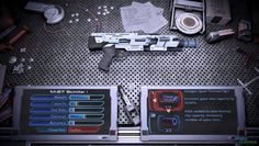Mass Effect 3 weapon upgrade interface