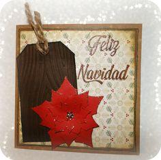Tarjeta de Navidad. Christmas