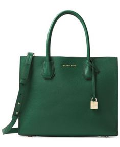 132058d87be4 Michael Kors Mercer Pebble Leather Tote & Reviews - Handbags & Accessories  - Macy's