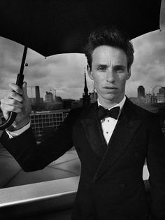 Eddie Redmayne shot by Nick Wilson British GQ: Men of the Year, October 2013