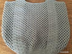 【編み図】松編み持ち手のネットバッグ – かぎ針編みの無料編み図 Atelier *mati*