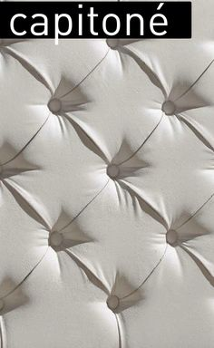 NEW CAPITONE PANELS - LAUNCHED AT SURFACE DESIGN