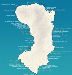 Map of Chios beaches Chios Greece, Mastic Gum, Where The Heart Is, Beautiful Islands, Beaches, Vacations, Travel, Snow, Map