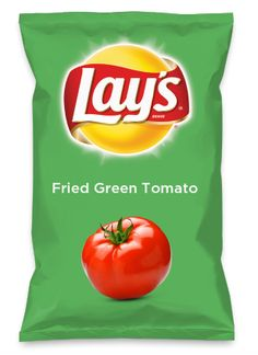 Wouldn't Fried Green Tomato be yummy as a chip? Lay's Do Us A Flavor is back, and the search is on for the yummiest flavor idea. Create a flavor, choose a chip and you could win $1 million! https://www.dousaflavor.com See Rules.