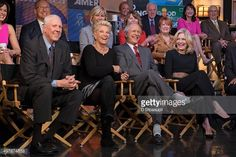 News Photo : David Hartman, Joan Lunden, Charles Gibson, and...