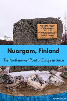 Have you wondered where is the northernmost place in European Union? Here's the answer: Nuorgam, Finland. It's right at the border between Norway and Finland.