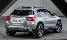 Concept car Mercedes Benz GLA