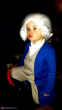 Toddler George Washington Costume - Halloween Costume Contest via