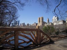 Central Park scenes, one of many bridges in the park