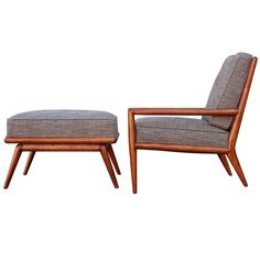 Lounge Chair and Ottoman by T.H. Robsjohn-Gibbings ca1950's