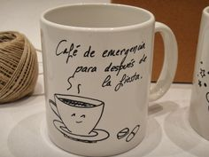 1000 images about tazas on pinterest mugs sharpie mugs - Tazas decoradas a mano ...