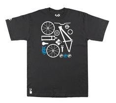 Dirt Setup® T-Shirt // Vintage BLK von Setup Brand auf DaWanda.com