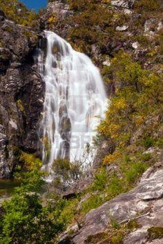 Touron cascada en Melón, Ourense, España Waterfall Fountain, Beautiful Waterfalls, Tulum, Pretty Pictures, Places To See, Rio, To Go, Landscape, World