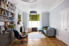 South London Interior Garden Designer transforms your home into an inspiring space that is totally unique and full of character. Transitional Living Rooms, Transitional House, Transitional Lighting, Oak Parquet Flooring, London Living Room, Transitional Fireplaces, Mid Century Living Room, Cool Ideas, Diy Ideas
