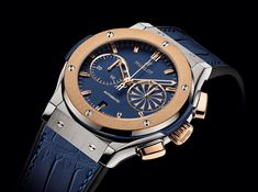 Hublot Watches; The art of fusion this unique ability to create timepieces which combine tradition and innovation. http://www.johnsonwatch.com/hublot.php